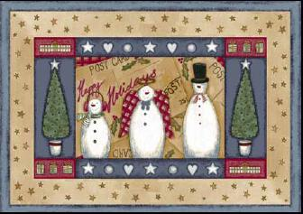 Frosty and Family 00012 - Winter