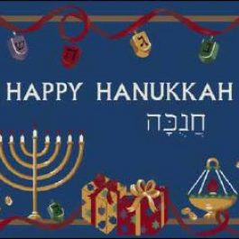 Happy Hanukkah 4533-00014 - Winter